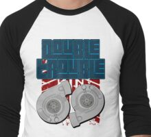Double Trouble Men's Baseball ¾ T-Shirt