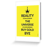 Buy Gold Greeting Card