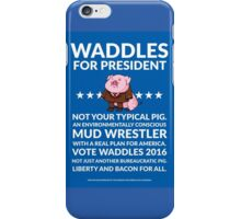Vote Waddles iPhone Case/Skin