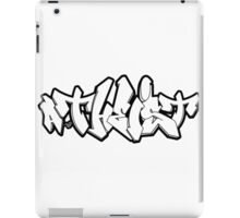 ATHEIST GRAFFITI by Tai's Tees iPad Case/Skin