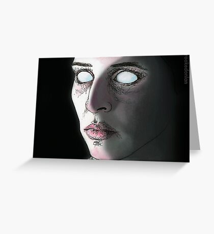 Blind Date - Vanessa - Angel Greeting Card