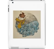 The Ship and The Swirling Sea iPad Case/Skin