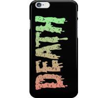 Death - Graffiti. Song Mashup iPhone Case/Skin