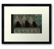 Judgement - The Tribunal - Angel Framed Print