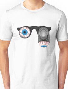 Pop-Out Eye Glasses Unisex T-Shirt