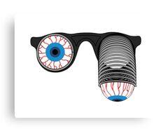 Pop-Out Eye Glasses Canvas Print