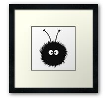Dazzled Bug White Cute IPhone Case Framed Print