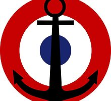 Roundel of the French Naval Aviation  by abbeyz71