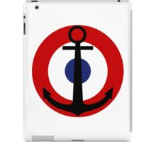 Roundel of the French Naval Aviation  iPad Case/Skin