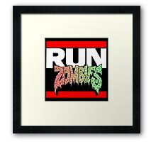 HIP HOP ZOMBIES Framed Print