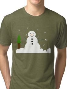 Frosty the Snowman Tri-blend T-Shirt