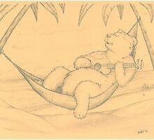 Ukelele Bear by Bart Castle