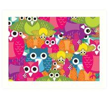 owlish Art Print