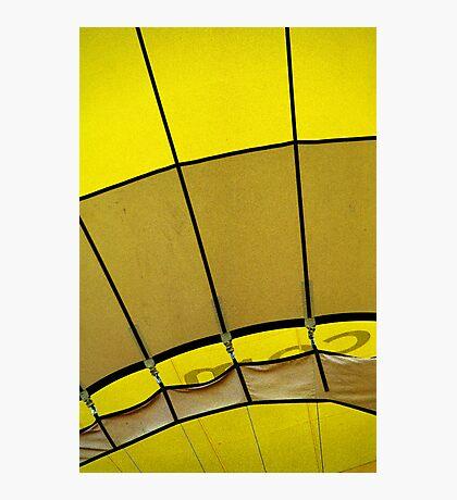 Hot air: Yellow Photographic Print