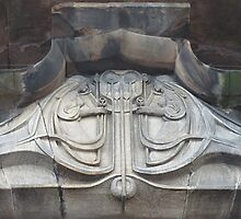 Decoration Above Glasgow School Of Art Entrance by MagsWilliamson