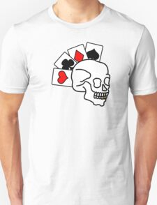 The ultimate poker face Unisex T-Shirt
