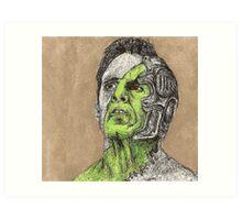 Primeval - Adam - BtVS Art Print