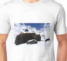 Cabin On The Mountain Unisex T-Shirt