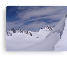 Near the Jungfraujoch Canvas Print