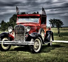 Proud To Be An American (Model A Ford) by raberry