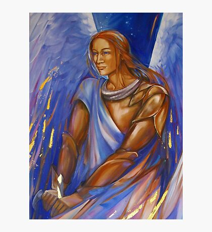Archangel Michael  Photographic Print