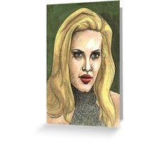 Real Me - Harmony - BtVS Greeting Card