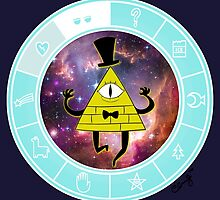 Bill Cipher - Universe by cucco