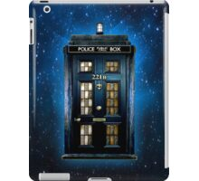 Space Traveller Box with 221b number iPad Case/Skin