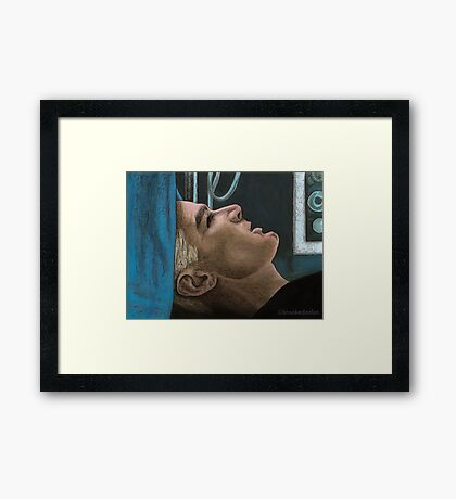 Out of my Mind - Spike - BtVS Framed Print