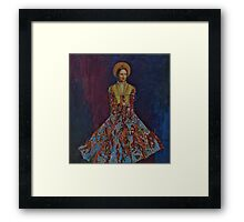 Portrait of A Lady Framed Print