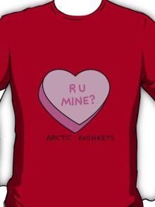 R U MINE? Arctic Monkeys art T-Shirt