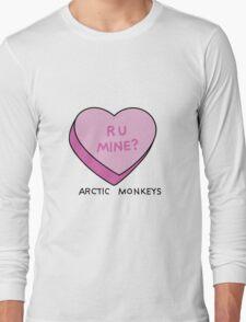 R U MINE? Arctic Monkeys art Long Sleeve T-Shirt