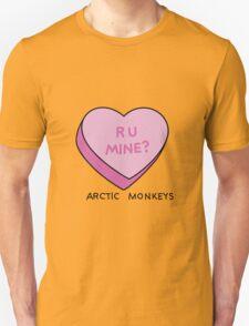 R U MINE? Arctic Monkeys art Unisex T-Shirt