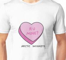 R U MINE? Arctic Monkeys art Unisex T-Shirt