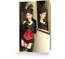 Buxom Beauty Greeting Card