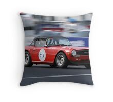Red TR6 Throw Pillow