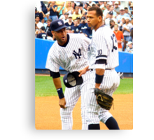 Teammate Chat Canvas Print