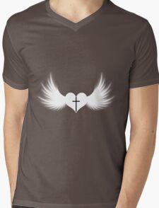 Goth faith ? (1) Mens V-Neck T-Shirt