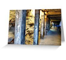 Tunnel (Biennale of Sydney '08) Greeting Card