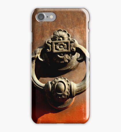 Italian Door Handle iPhone Case/Skin