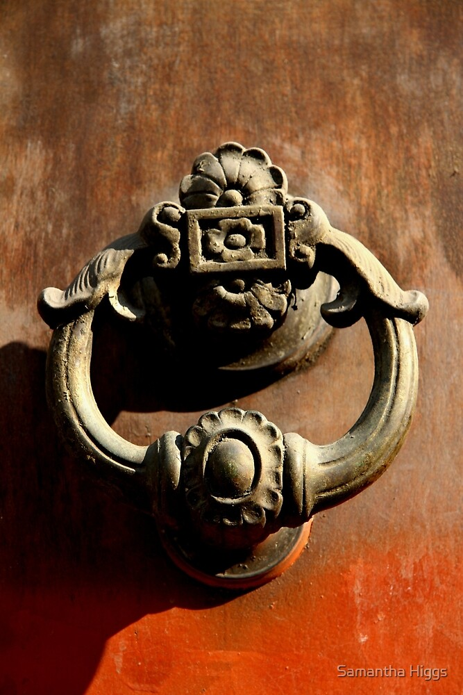Italian Door Handle by Samantha Higgs