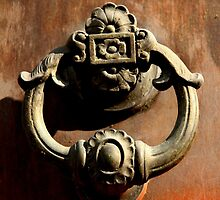 Italian Door Handle by Samantha Higgs