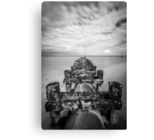 Hornsea Waste Pipe Canvas Print