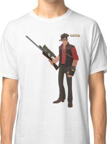Team Fortress 2 | Minimalist Sniper Classic T-Shirt