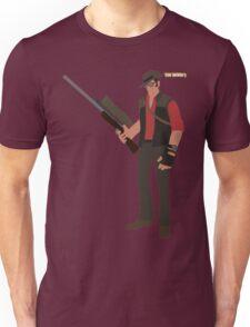 Team Fortress 2 | Minimalist Sniper Unisex T-Shirt