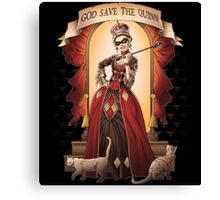 God Save The Quinn Canvas Print