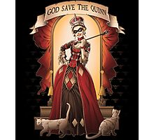 God Save The Quinn Photographic Print