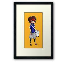 Chibi Nate (Pokemon Black 2 and White 2) Framed Print
