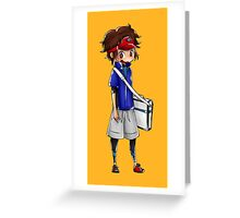 Chibi Nate (Pokemon Black 2 and White 2) Greeting Card