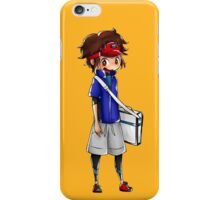 Chibi Nate (Pokemon Black 2 and White 2) iPhone Case/Skin